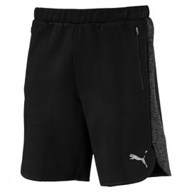 Evostripe Shorts Cotton Black