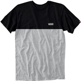 MN COLORBLOCK TEE BLACK-ATHLET