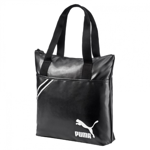 Archive Shopper PU black-white