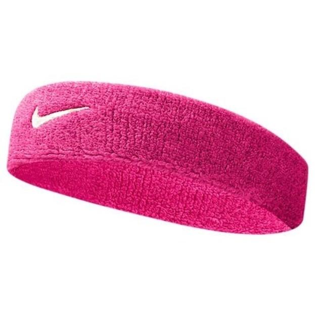 Dámská růžová čelenka Nike Swoosh Headband  b1e916e6a9