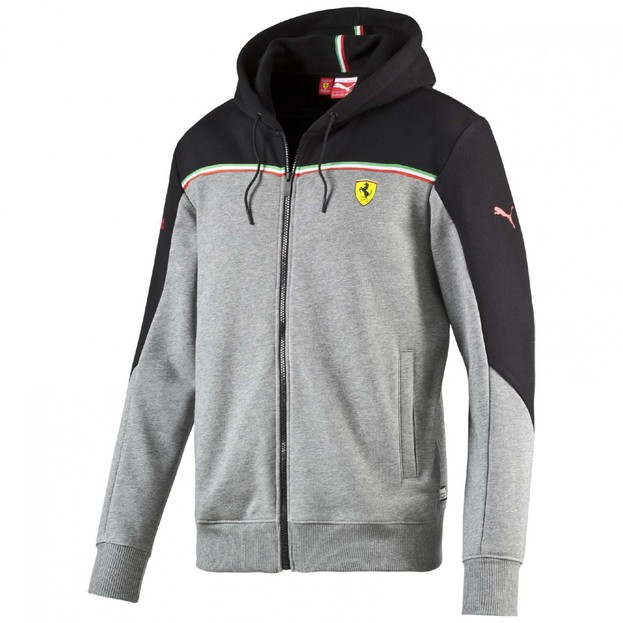 Pánská mikina Puma SF Sweat Jacket medium gray he