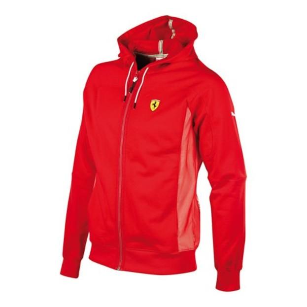Pánská mikina Puma SF Sweat Jacket rosso corsa  5feabe7092e