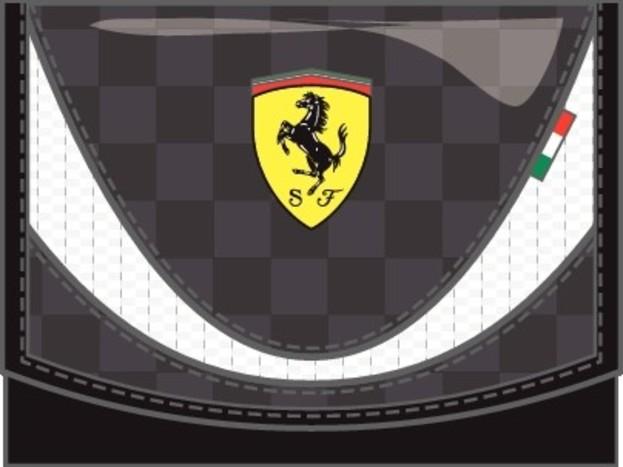 Pánská peněženka Puma Ferrari Ferrari Replica Wallet black-w  0a80978376