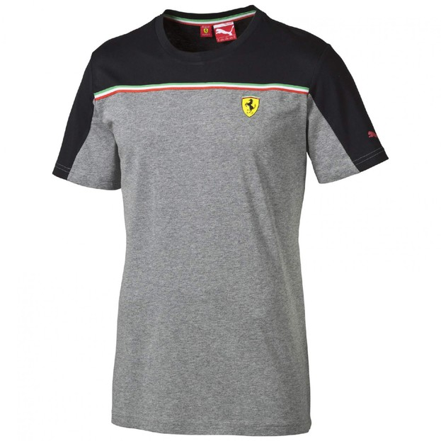Pánské tričko Puma SF Tee 1 medium gray heather
