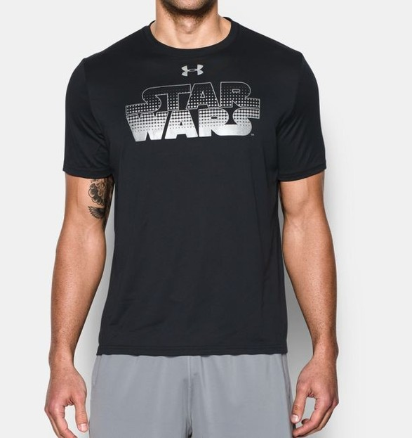 Pánské tričko Under Armour Star Wars Wordmark SS T