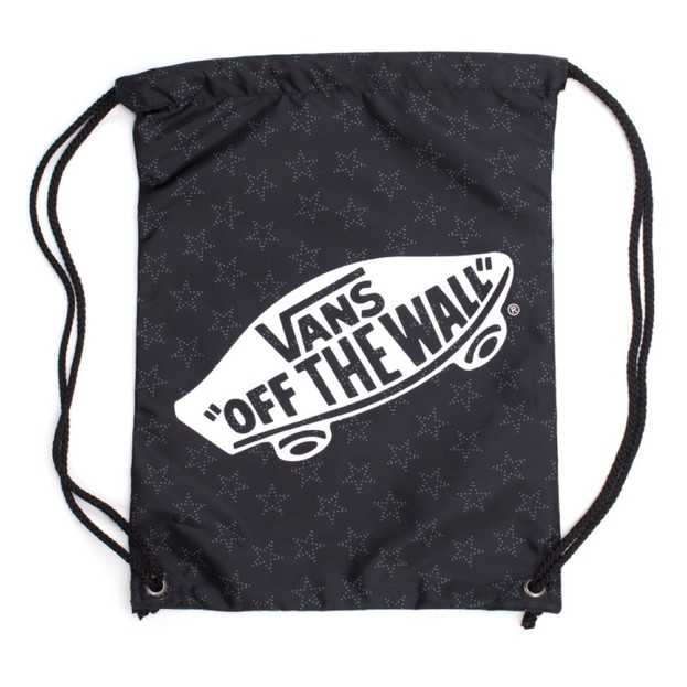 W BENCHED BAG STAR DOT BLACK