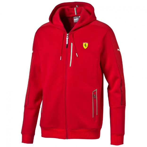 SF Sweat Jacket rosso corsa