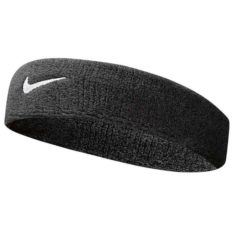 Černá čelenka Nike SWOOSH HEADBAND  cade168d89
