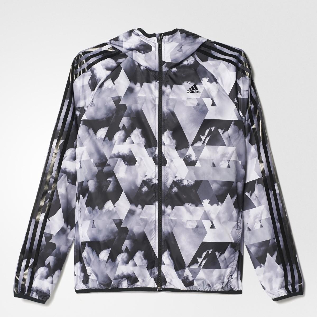 Dámská bunda adidas 3 STRIPE WB