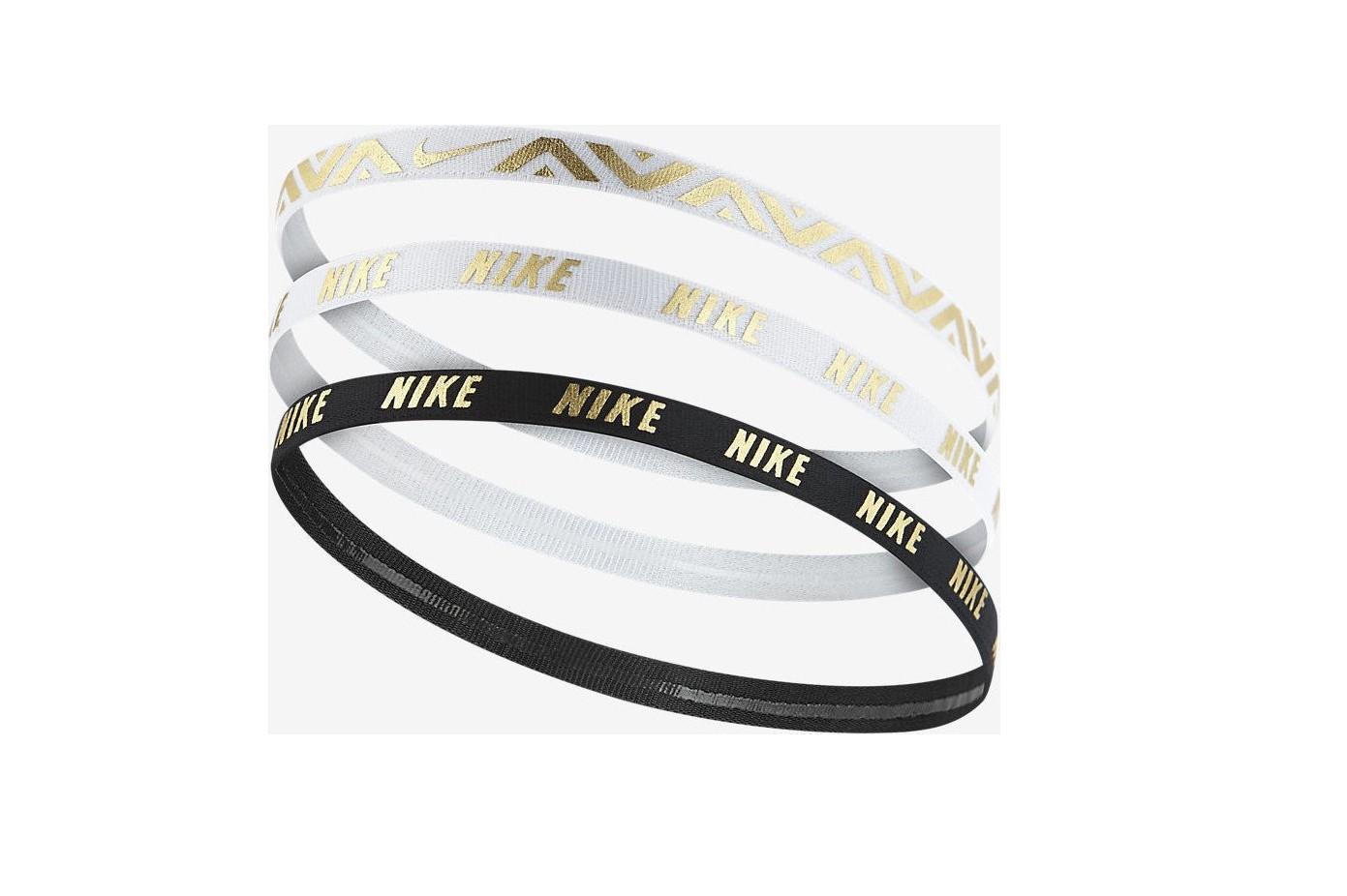 Dámská čelenka Nike METALLIC HAIRBANDS 3 PACK  127df070b0