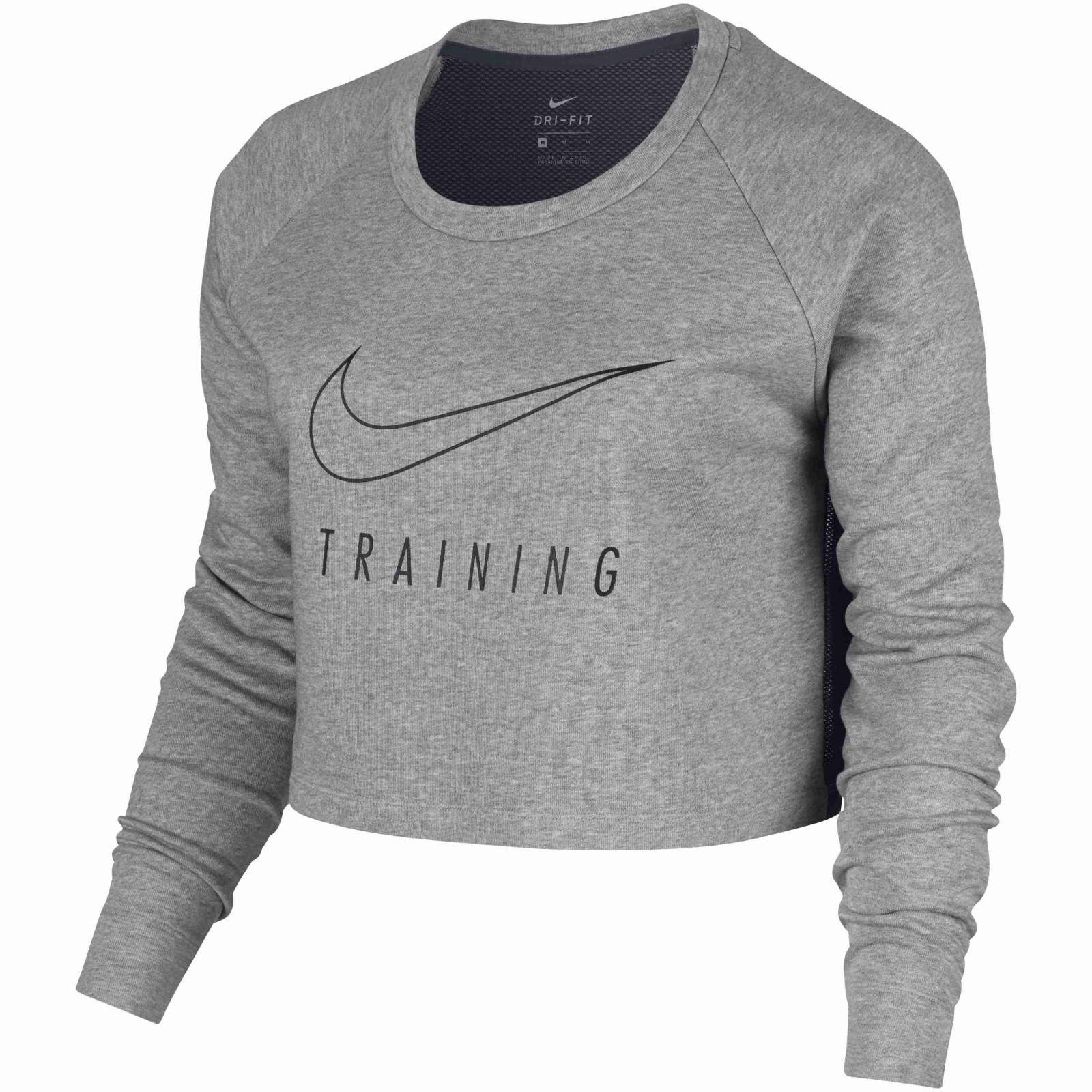 b1ef9b5aca4 Dámská mikina Nike W NK DRY TOP LS VERSA CROP