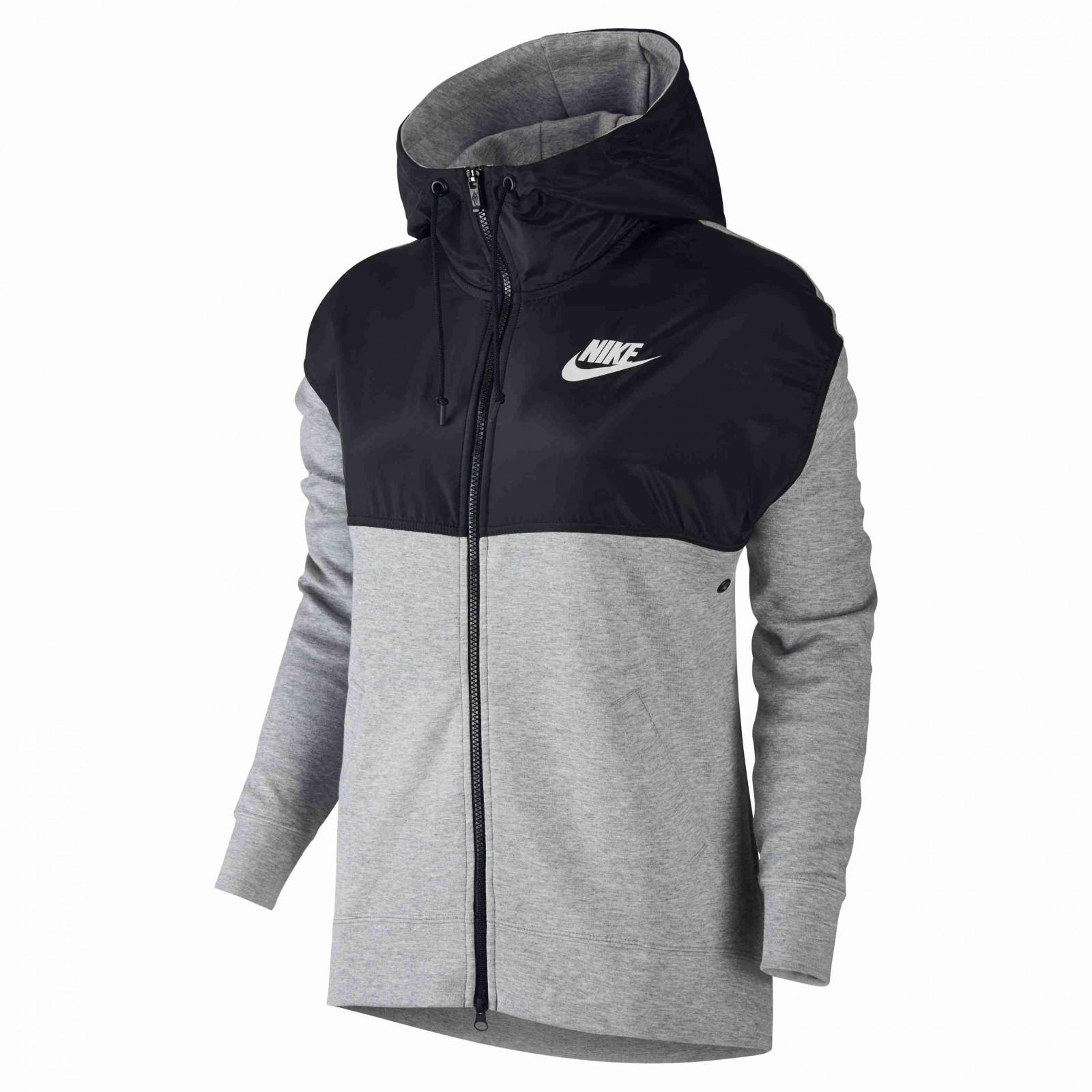Dámská mikina Nike W NSW AV15 HOODIE FZ  31ee2295c7
