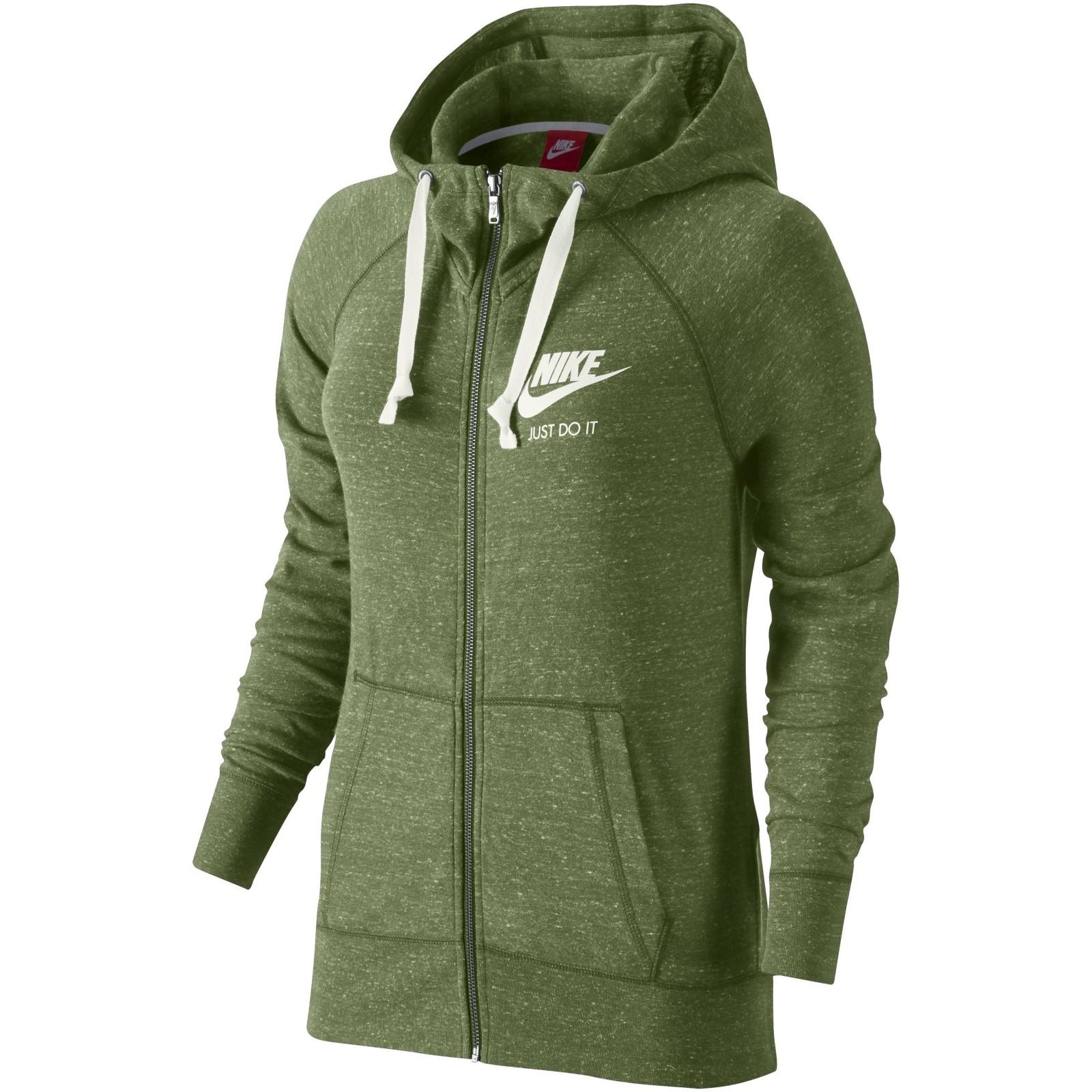 Dámská mikina Nike W NSW GYM VNTG HOODIE FZ  09c06f7782