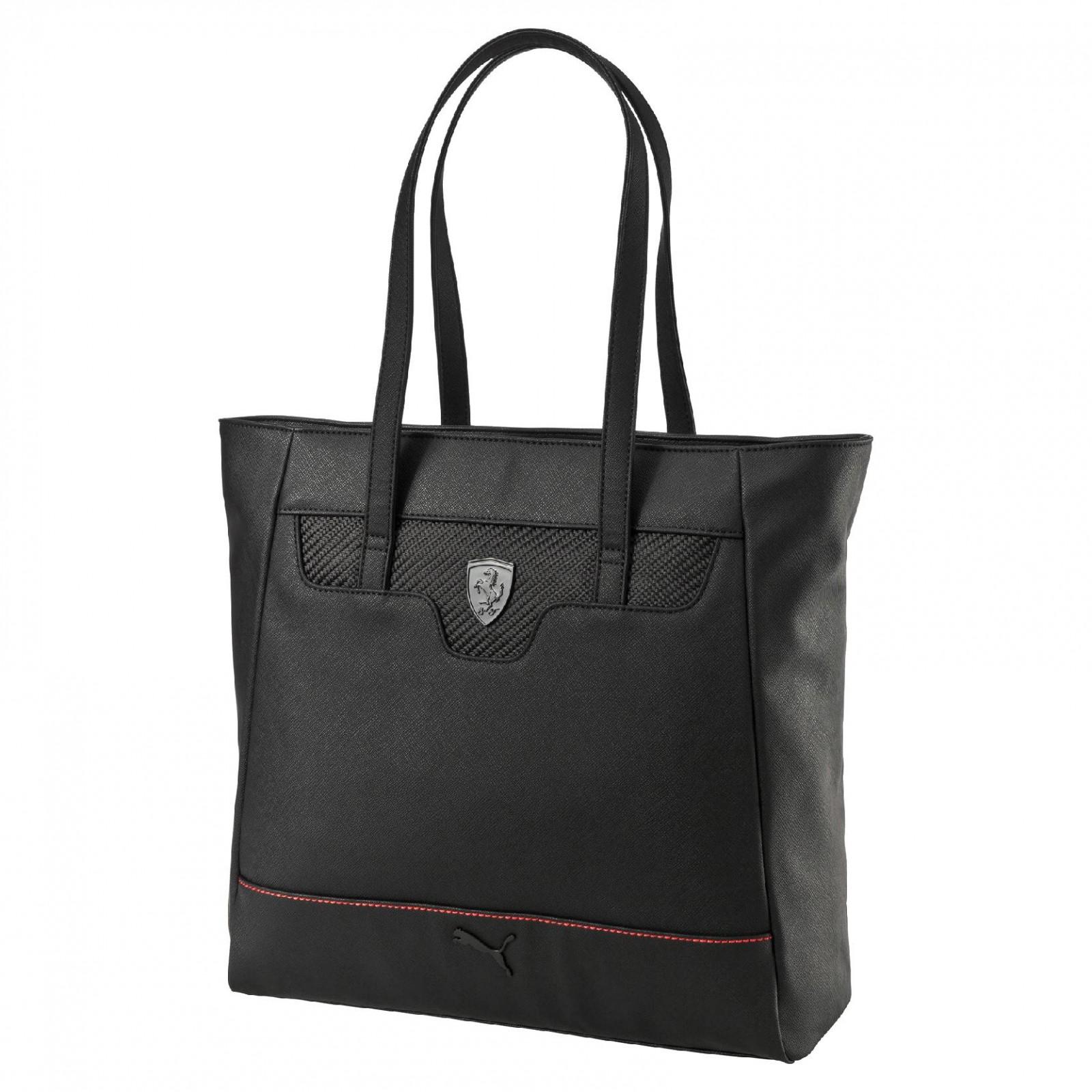 90c0dd08ff Dámská taška Puma Ferrari Ferrari LS Shopper Puma Black