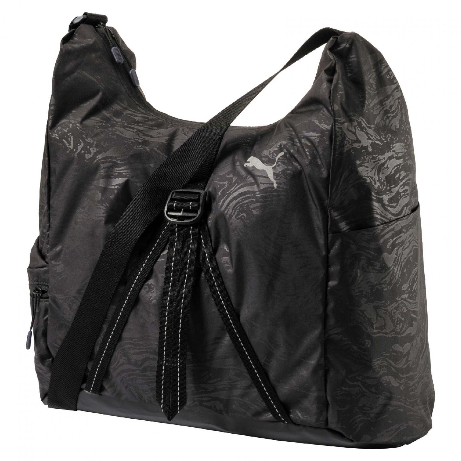 Dámská taška Puma Fit AT Hobo Bag Black-ref  f3fc29c4f8