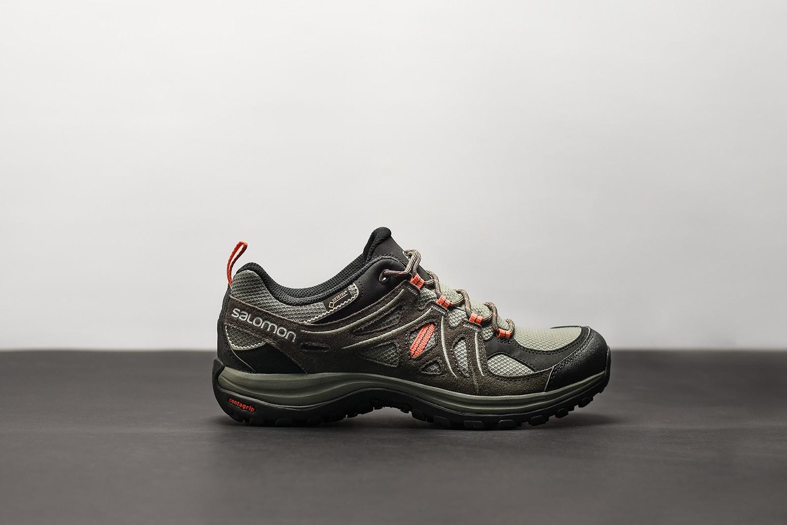8fda8223eb9f Dámská Treková obuv Salomon ELLIPSE 2 GTXR W Castor Gra Be