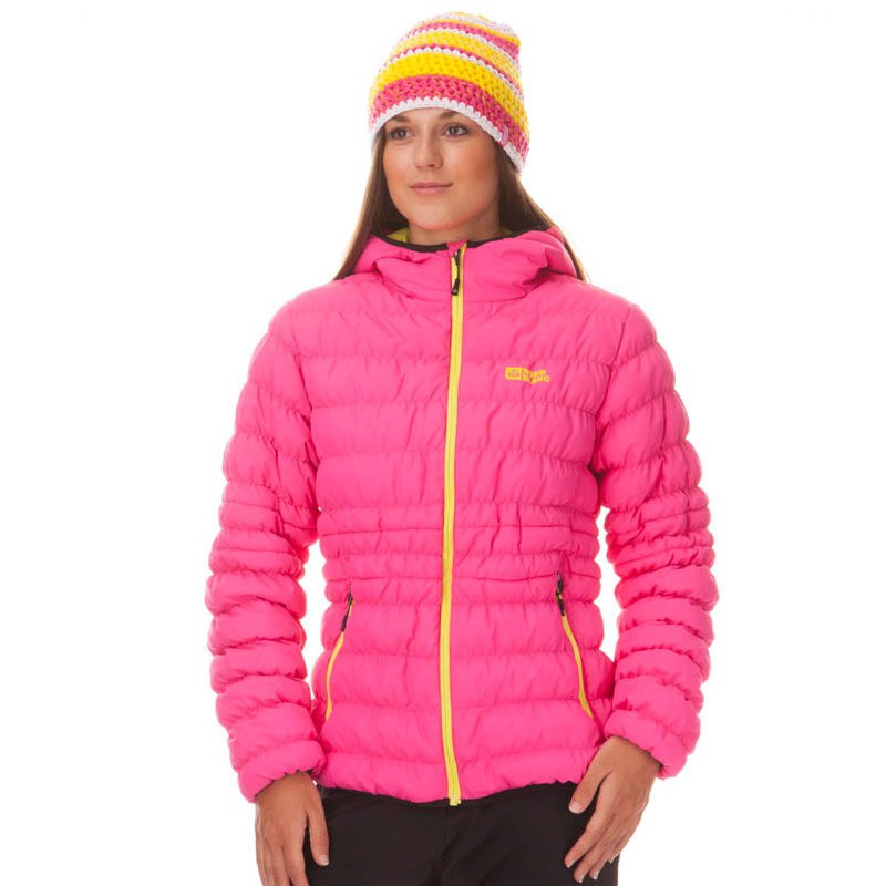 Dámská zimní bunda Nordblanc růžová  121982d8d6