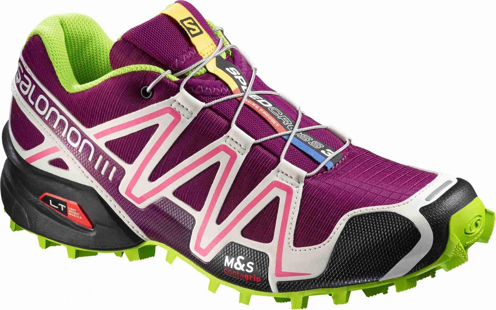 Dámské běžecké boty Salomon SPEEDCROSS 3 W MYSTIC PURPLE G  7156532a5b