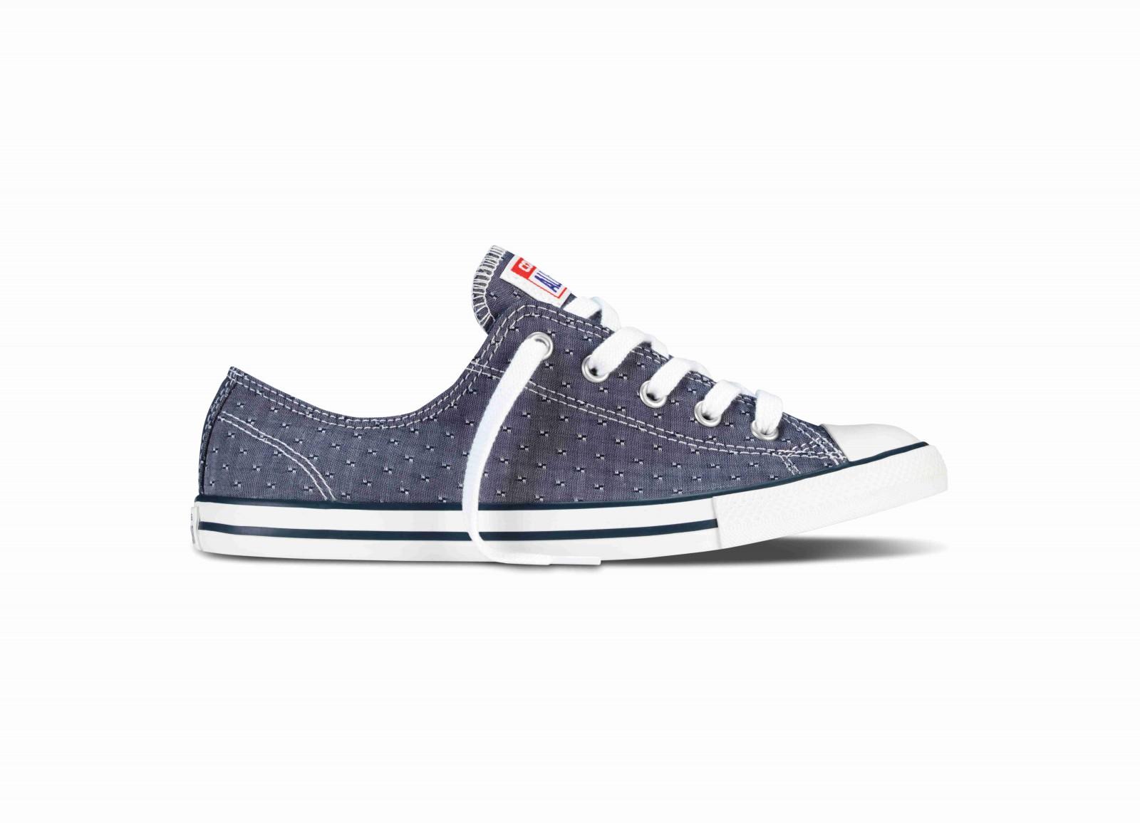 8874fbda0646 Dámské boty Converse Chuck Taylor All Star Dainty modré