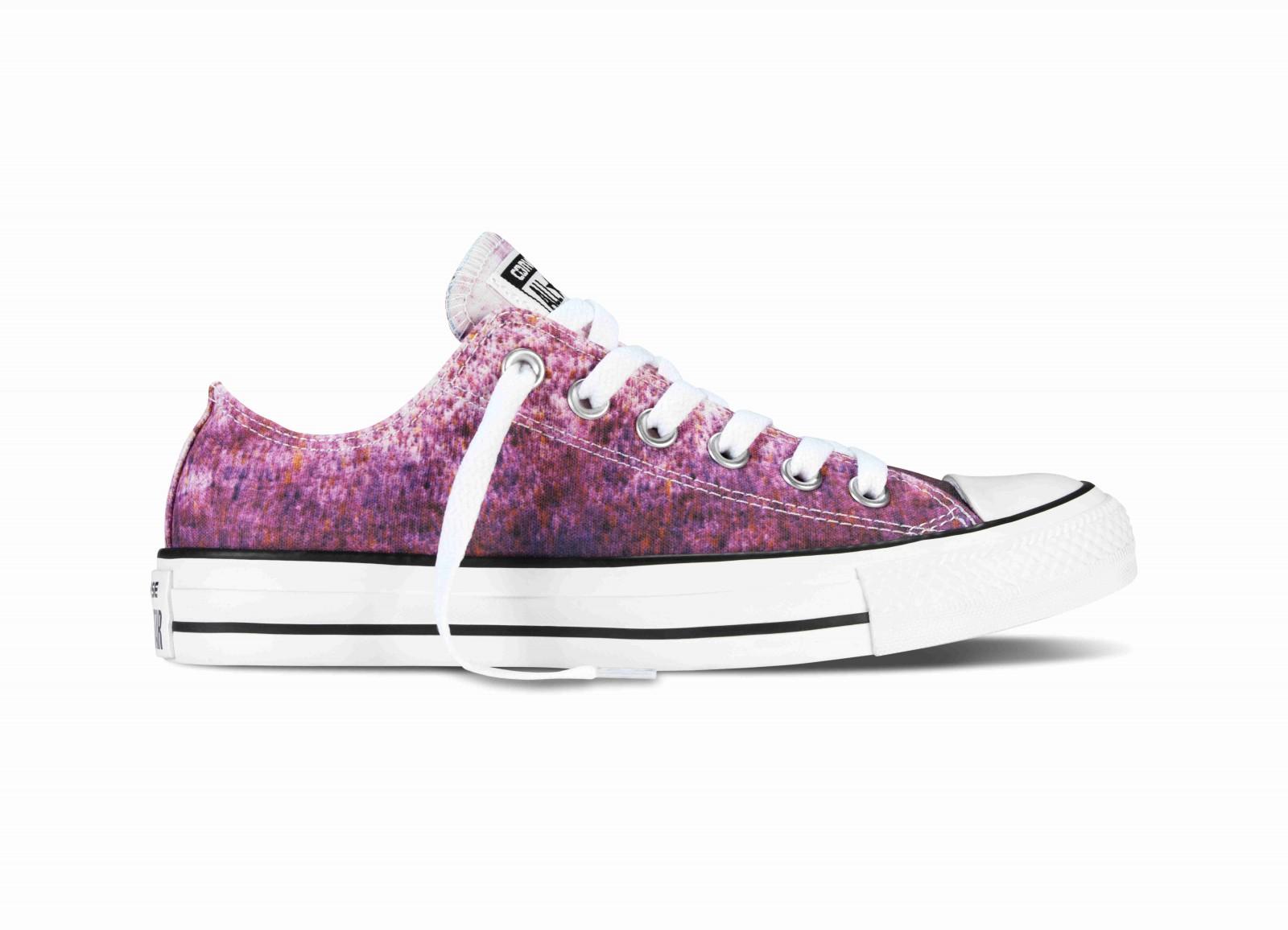 186c4a573e3 Dámské boty Converse Chuck Taylor All Star fialový print