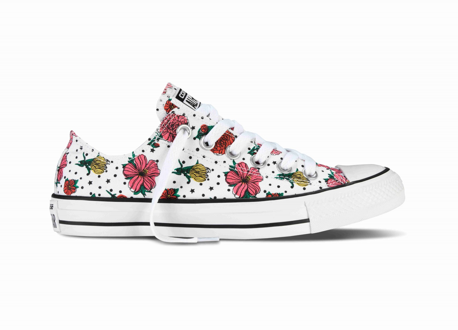 cea899eb204 Dámské boty Converse Chuck Taylor All Star květiny
