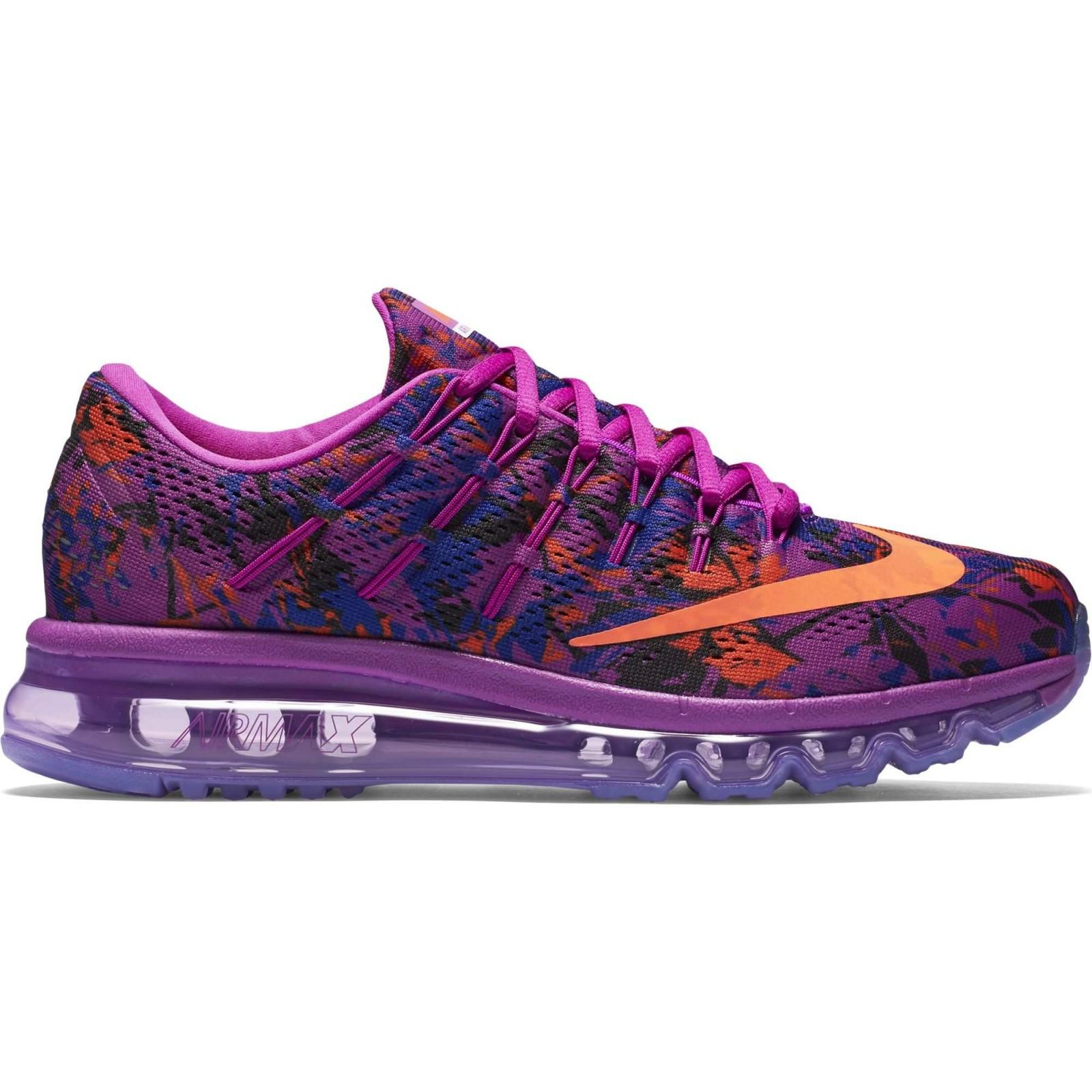 b5403c5ee0e Dámské boty Nike WMNS AIR MAX 2016 PRINT fialové