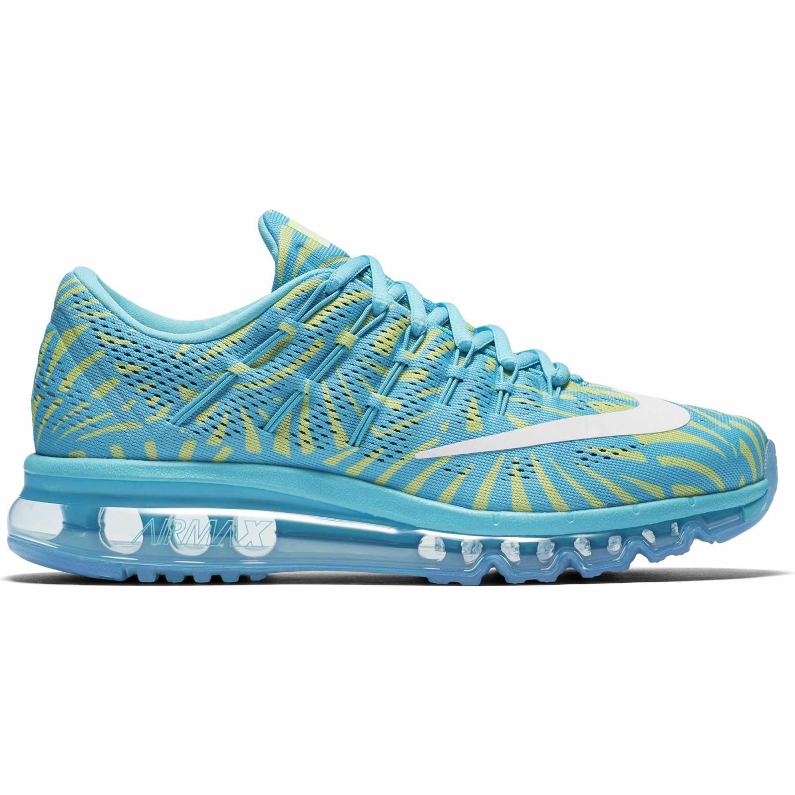 Dámské boty Nike WMNS AIR MAX 2016 PRINT modré  f39519a90f4