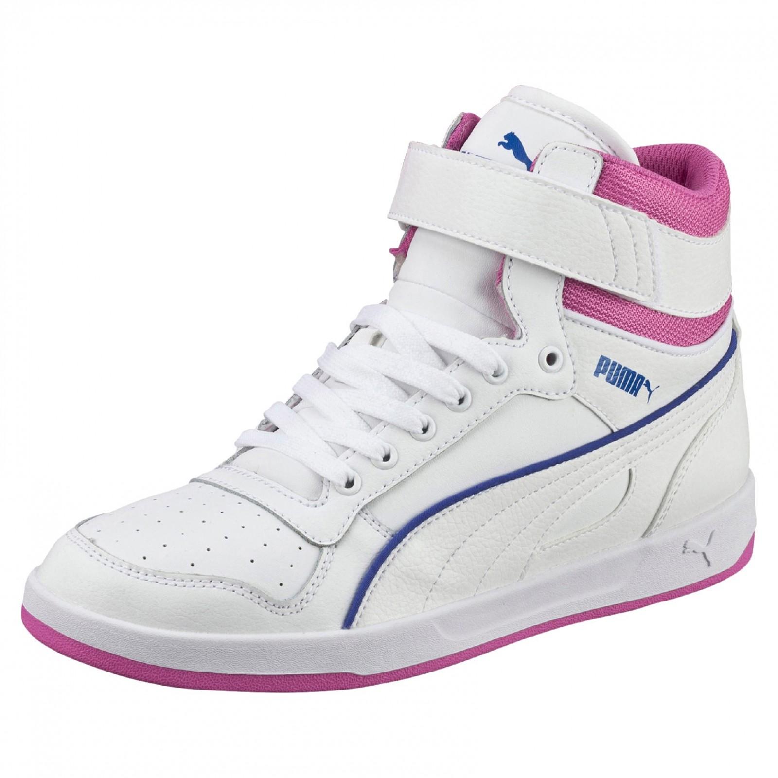 Dámské boty Puma Liza Mid white-white 68bc6cce95