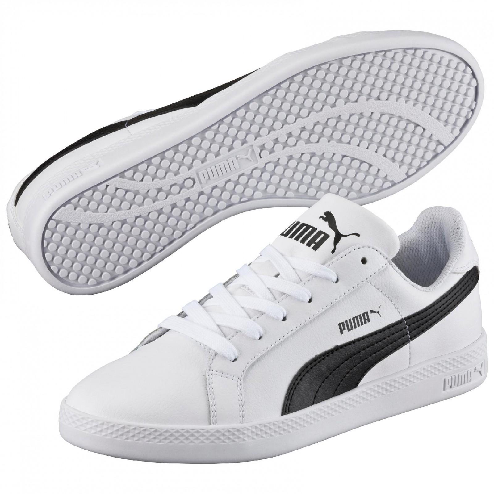 Dámské boty Puma Smash Wns L white-black  49e20afeea
