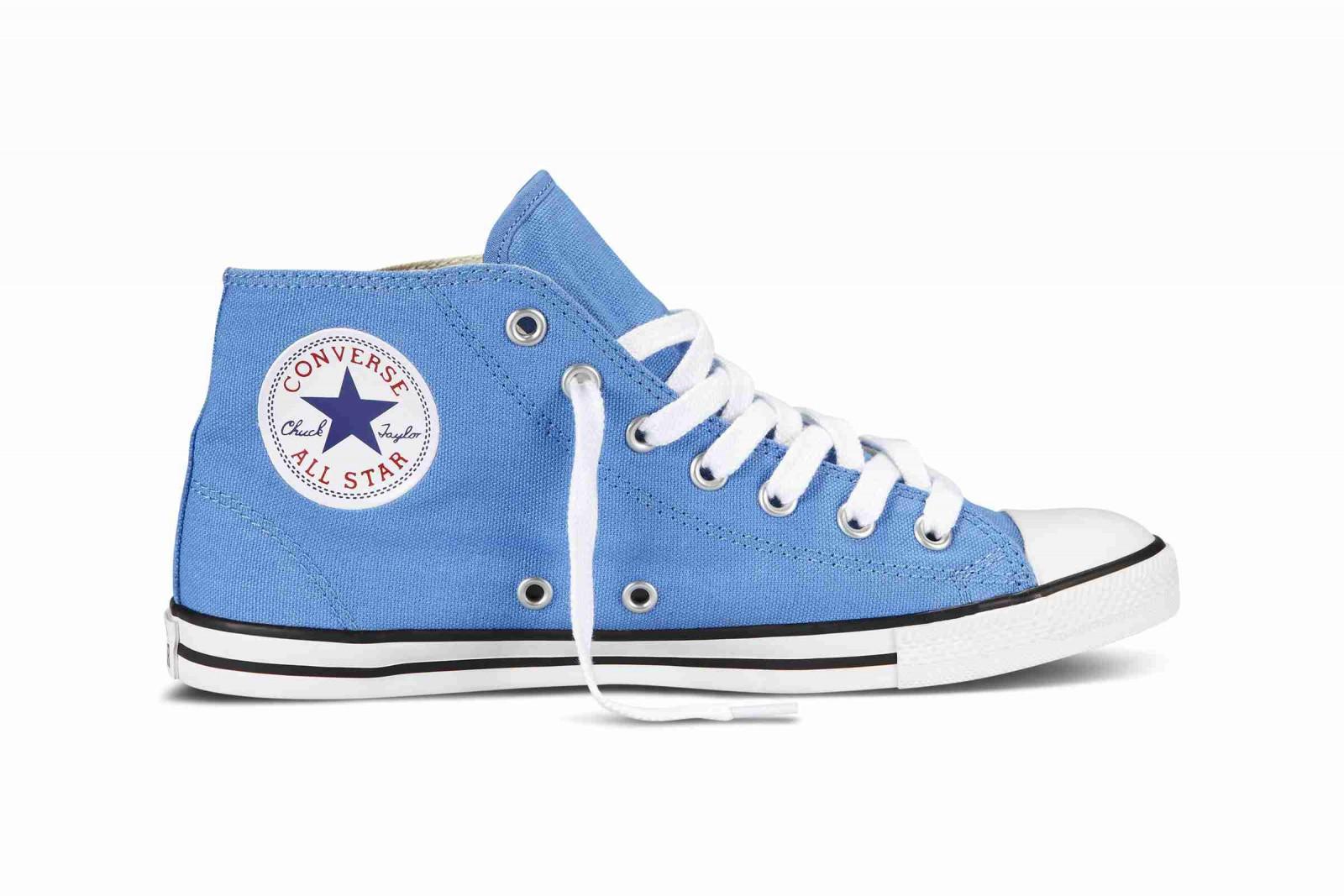 Dámské kotníkové boty Converse Chuck Taylor All Star Dainty modré ... 7633b43f80f