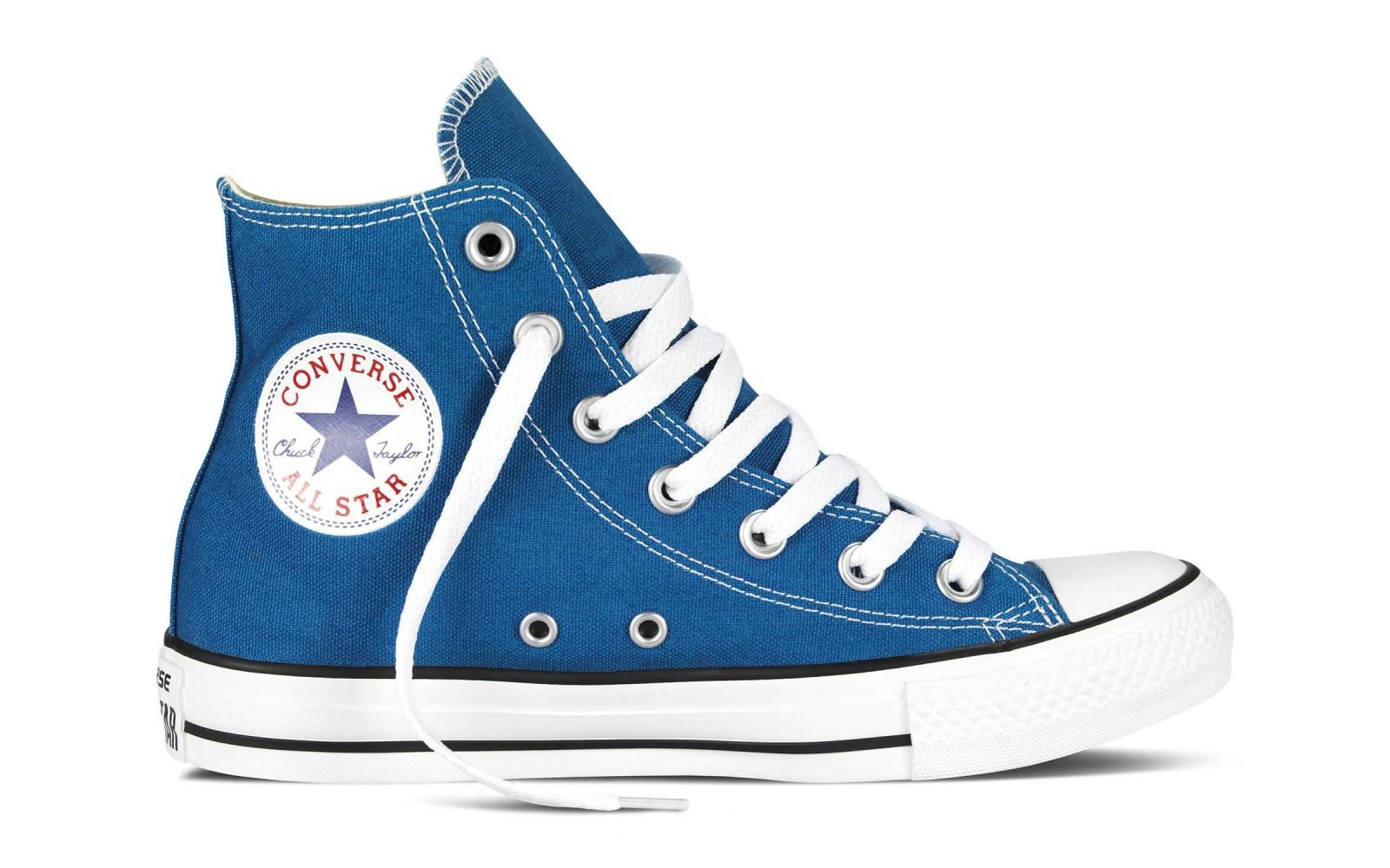 4f03a11aa50 Dámské kotníkové boty Converse Chuck Taylor All Star modré