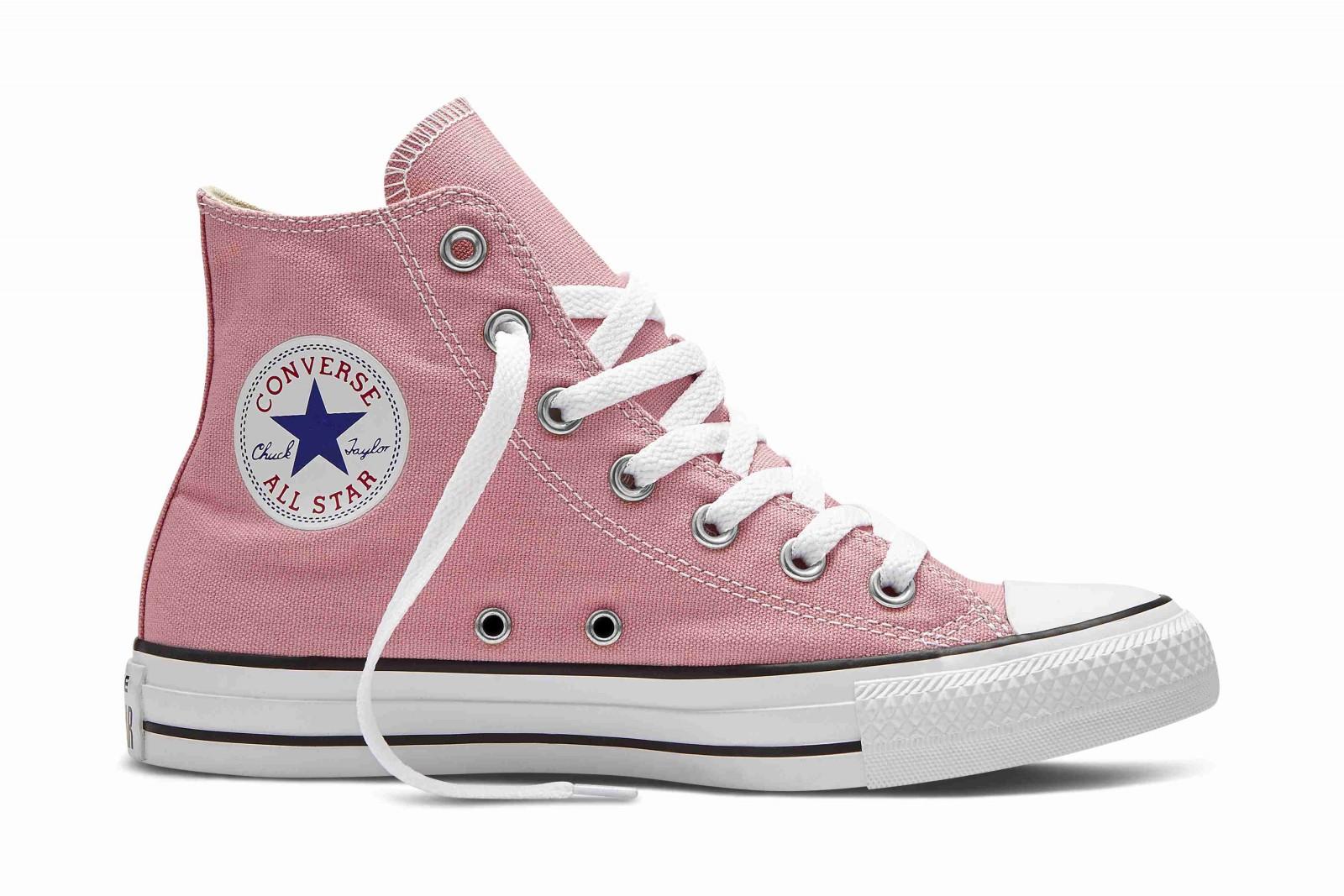 Dámské kotníkové boty Converse Chuck Taylor All Star růžové  f9a6f44eb2f