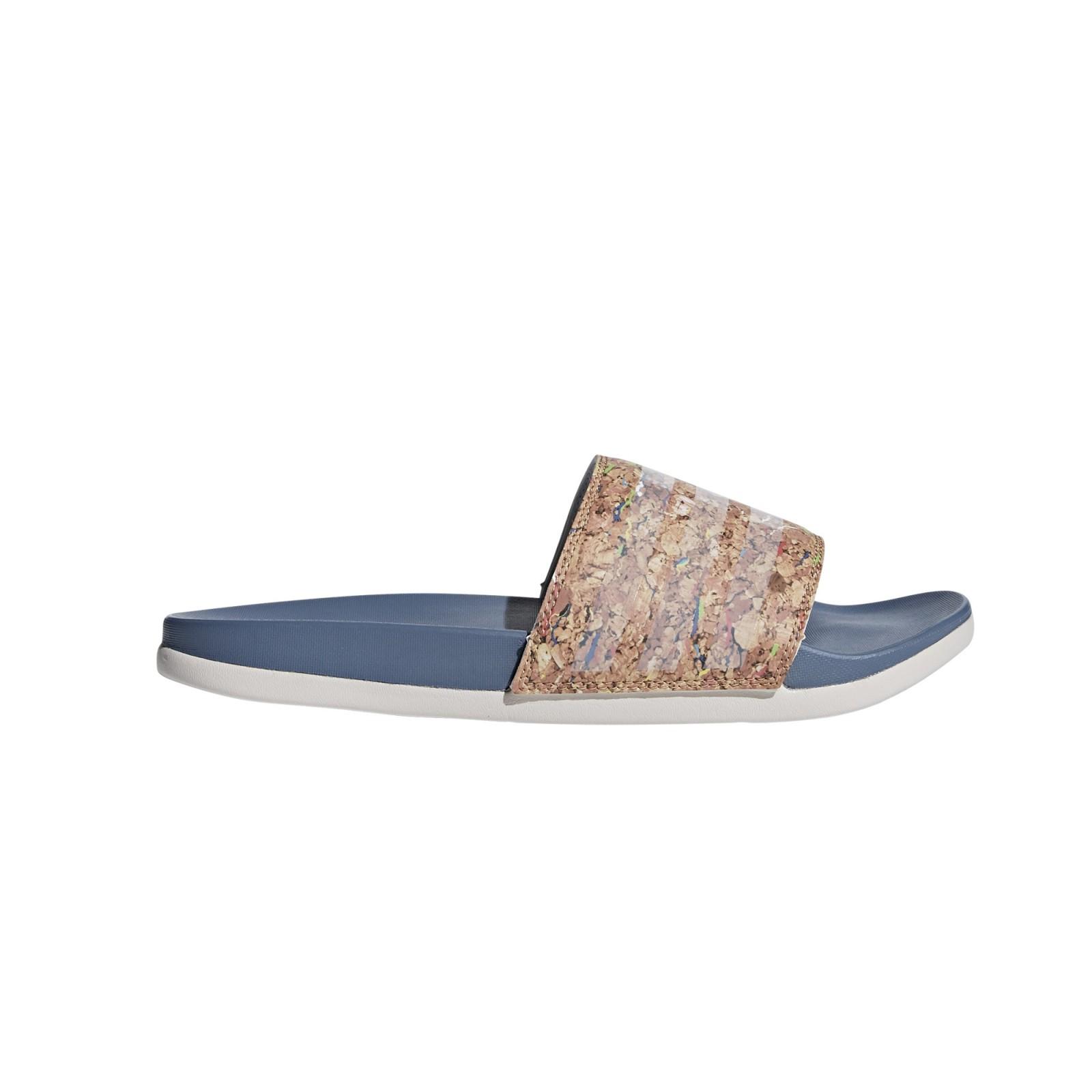 4280766944b Dámské pantofle adidas Performance adilette CF+ cork W