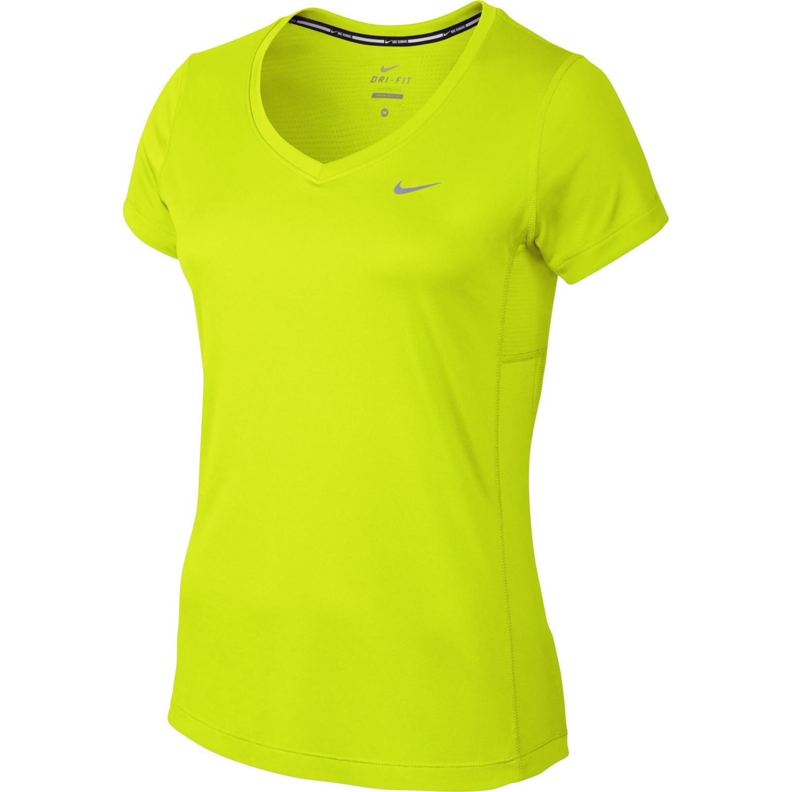 add0916e59aa Dámské tričko Nike MILER V-NECK