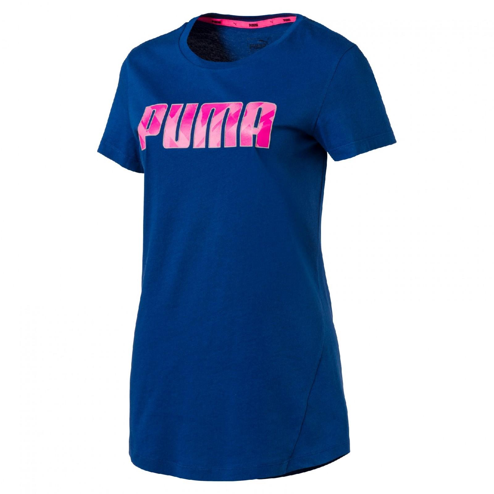 Dámské tričko Puma ELEVATED Tee W TRUE BLUE  869aab41136