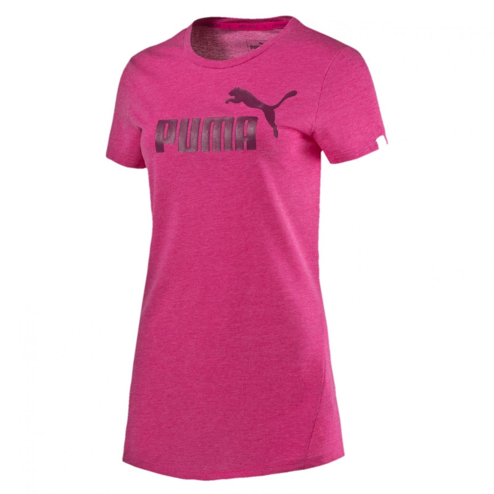 d1a4c988f7ec Dámské tričko Puma ESS No.1 Tee Heather W Fuchsia