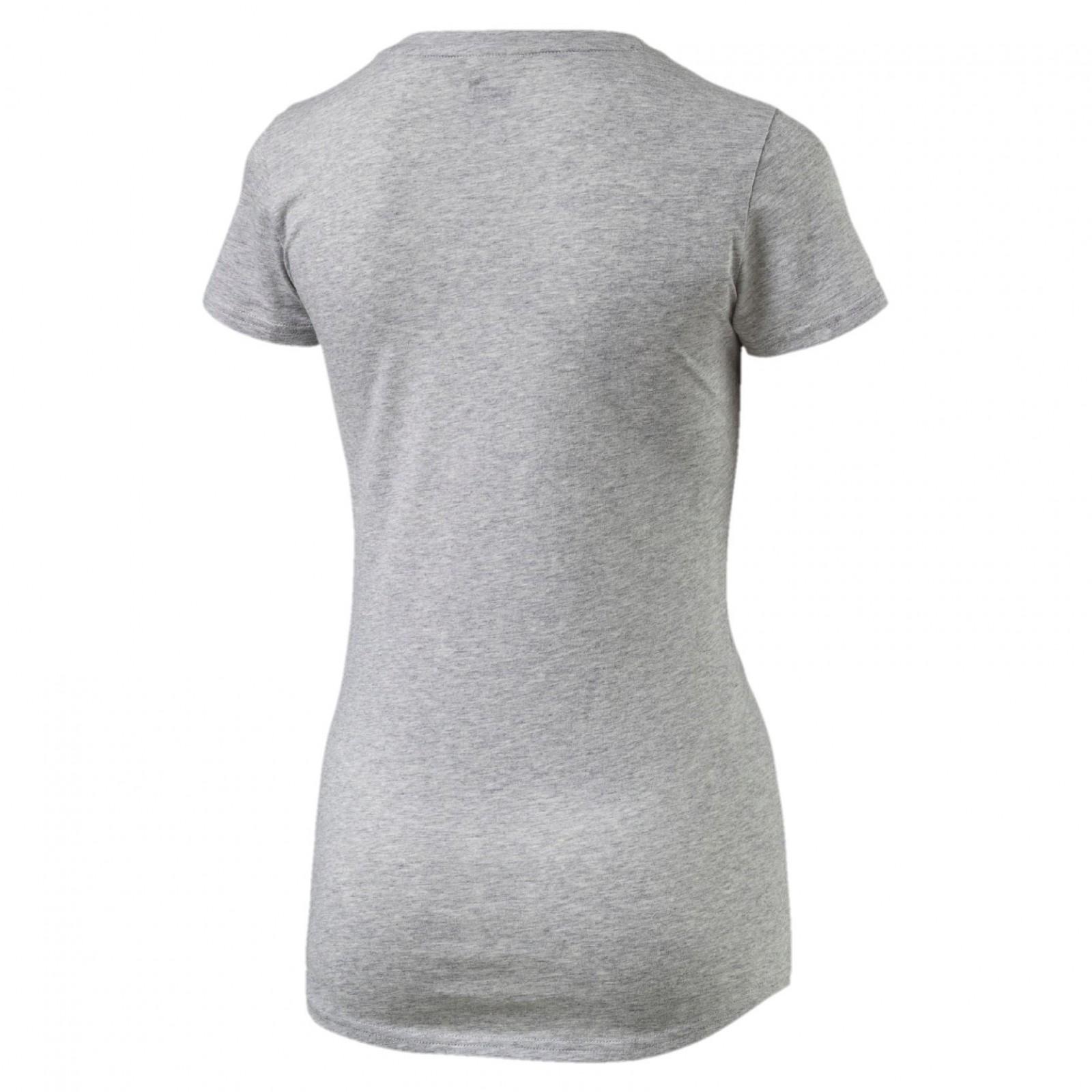 Dámské tričko Puma ESS No.1 Tee W Light Gray Heat  2898ddfeaff