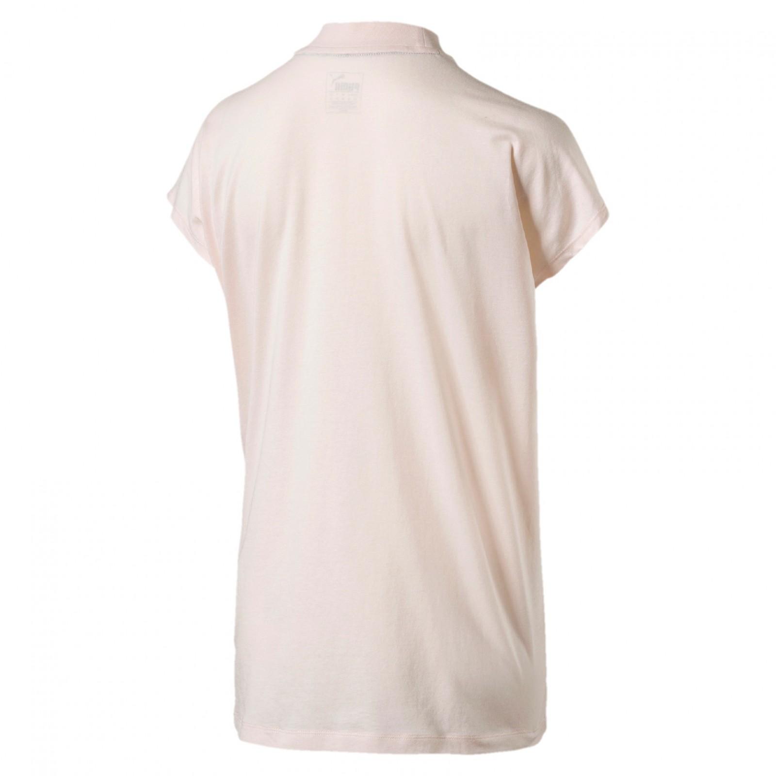 57dff01a1353 Dámské Tričko Puma EVOSTRIPE Tee Pearl