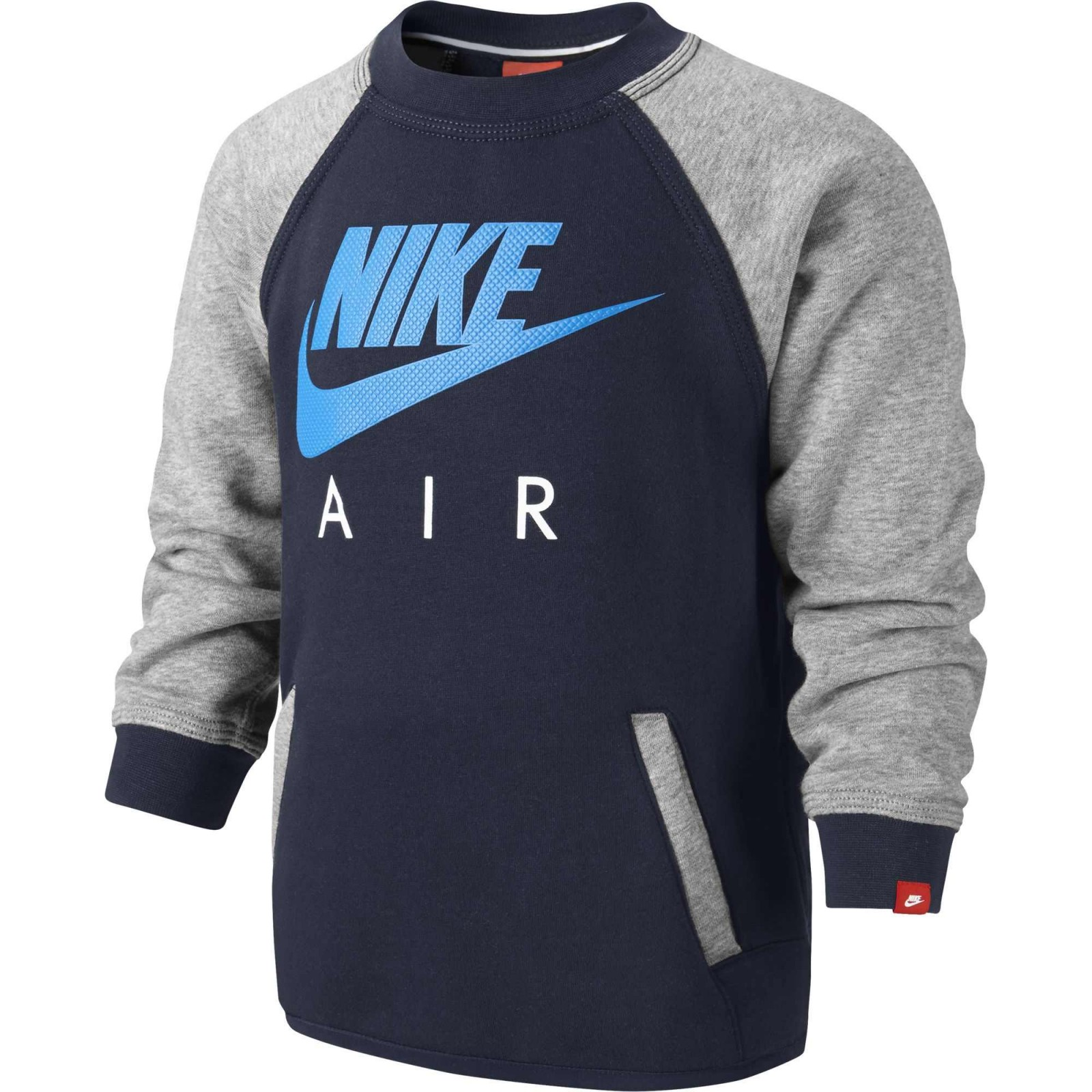 7d897f1a26b Dětská mikina Nike YA BF HBR CREW -AIR LK