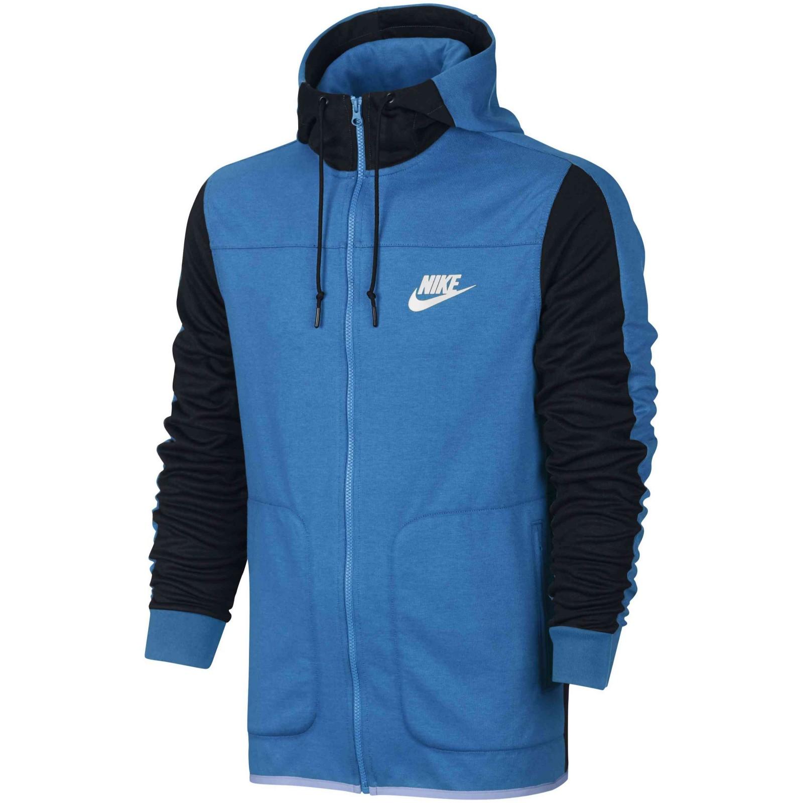 146b6b7cdf6b Pánská mikina Nike M NSW AV15 HOODIE FZ FLC