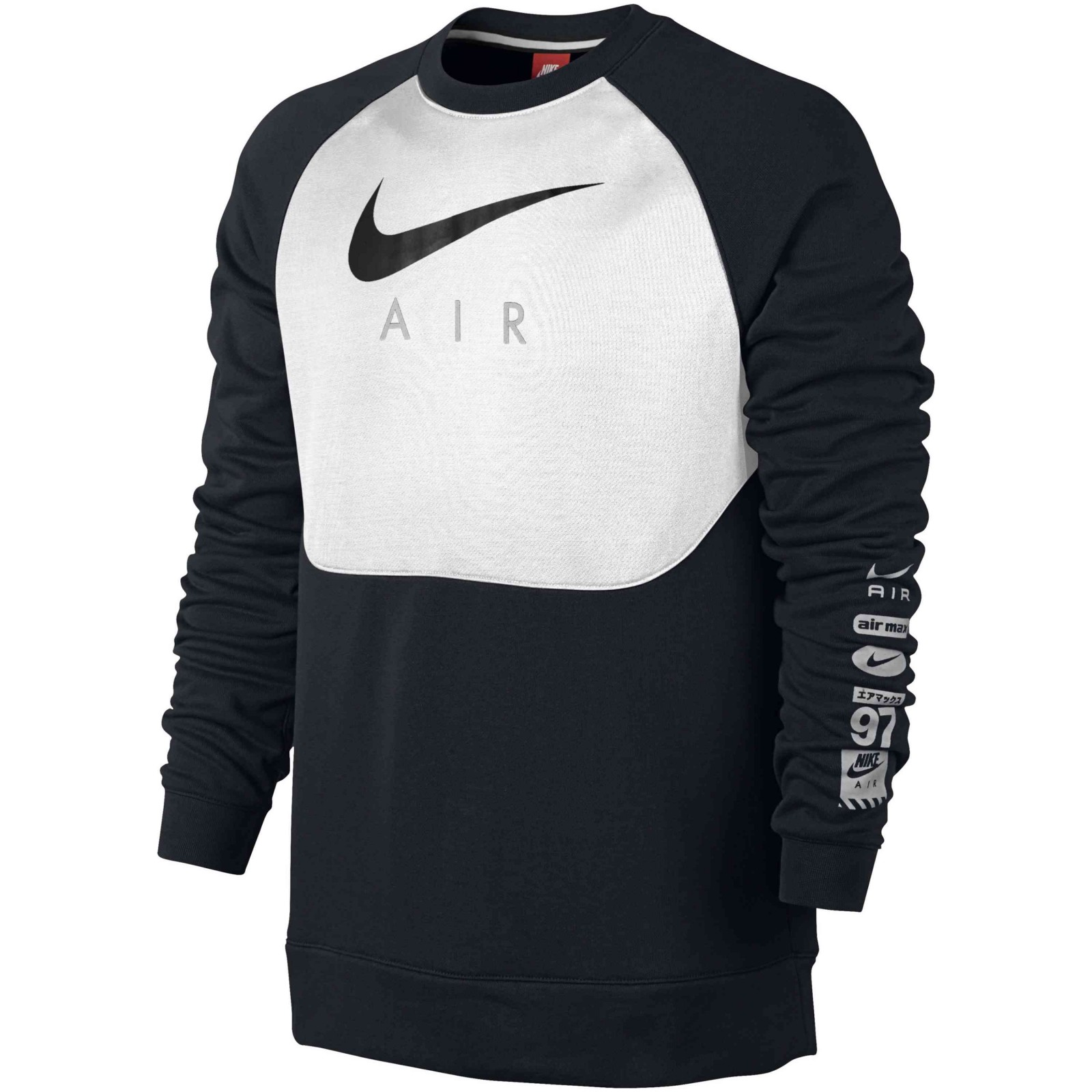 Pánská mikina Nike M NSW CRW BB AIR HYB  39f3ab4178c
