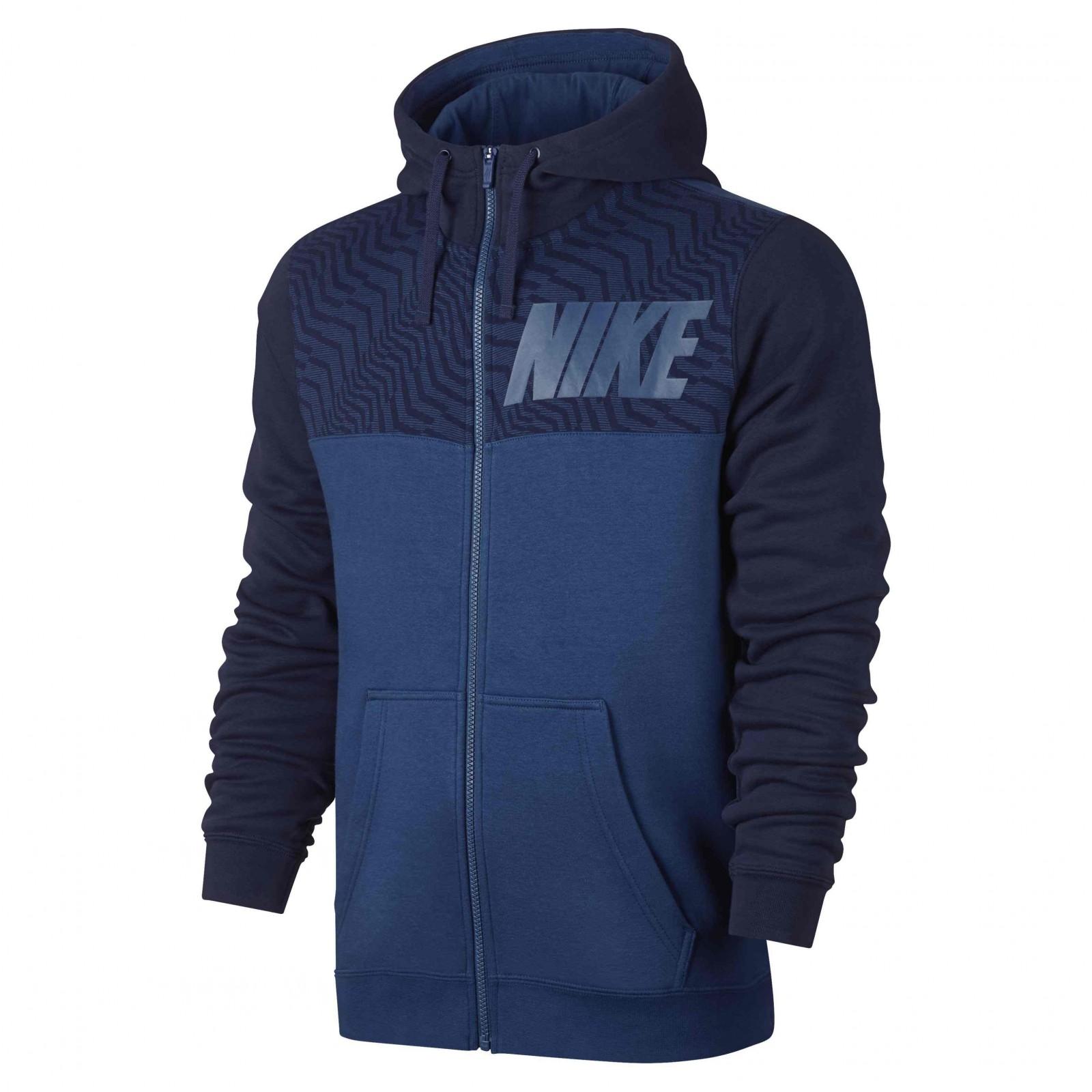 1cb6e82c1 Pánská mikina Nike M NSW HOODIE FZ FLC GX   D-Sport