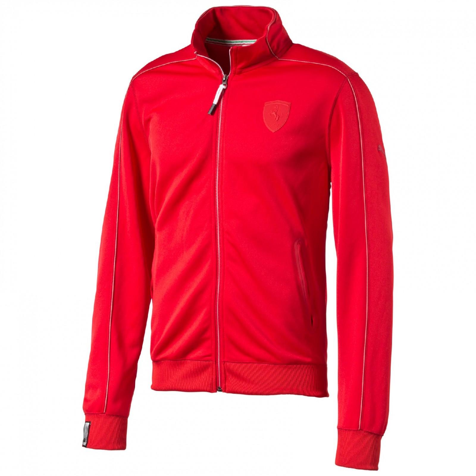 7ffd5cbb12 Pánská mikina Puma Ferrari Ferrari Track Jacket rosso cor