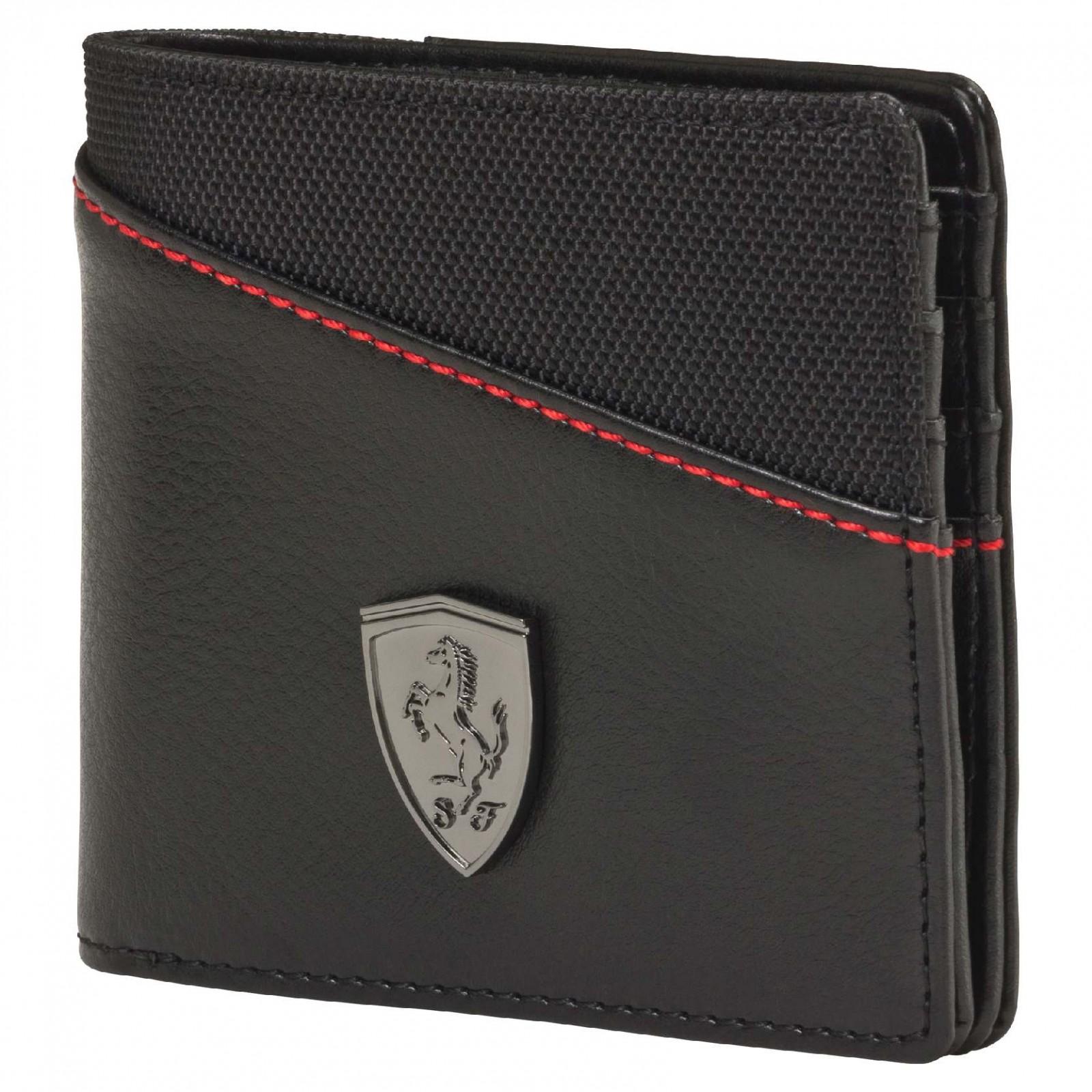2f4b44872b0 Pánská peněženka Puma Ferrari Ferrari LS Wallet M black