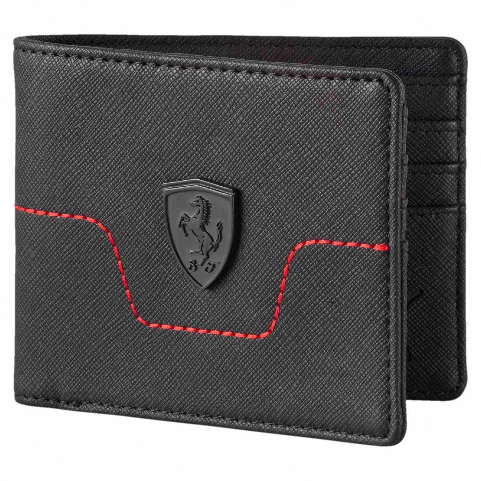 876556154e9 Pánská Peněženka Puma Ferrari LS Wallet M Black
