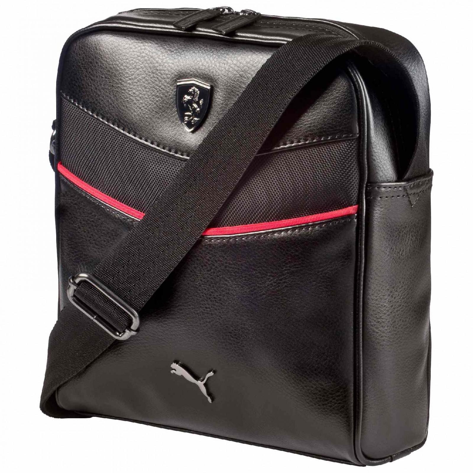 Pánská taška Puma Ferrari Ferrari LS Portable black  4a62153d101