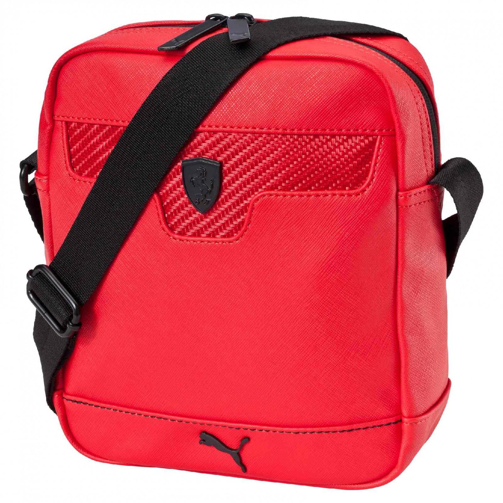 0717caa7f3 Pánská taška Puma Ferrari LS Portable Rosso Cors