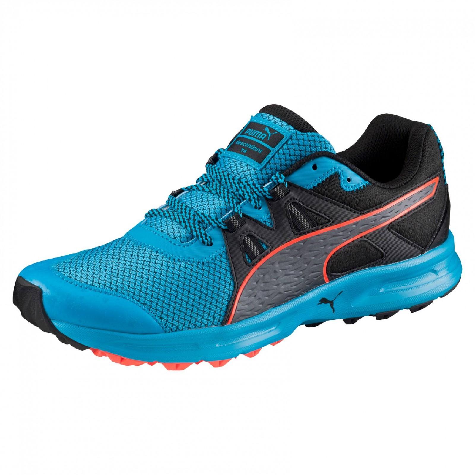 ce915a03b1f Pánské běžecké boty Puma Descendant TR atomic blue-blac