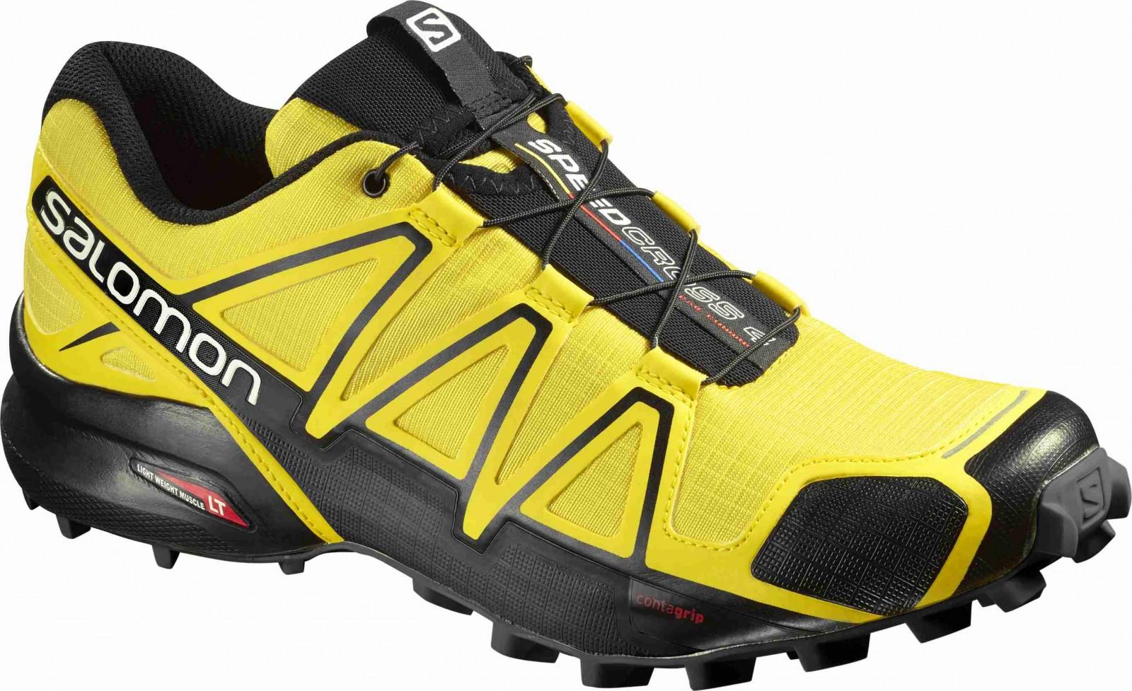 0a6c949c69 Pánské běžecké boty Salomon SPEEDCROSS 4 CORONA YELLOW YE