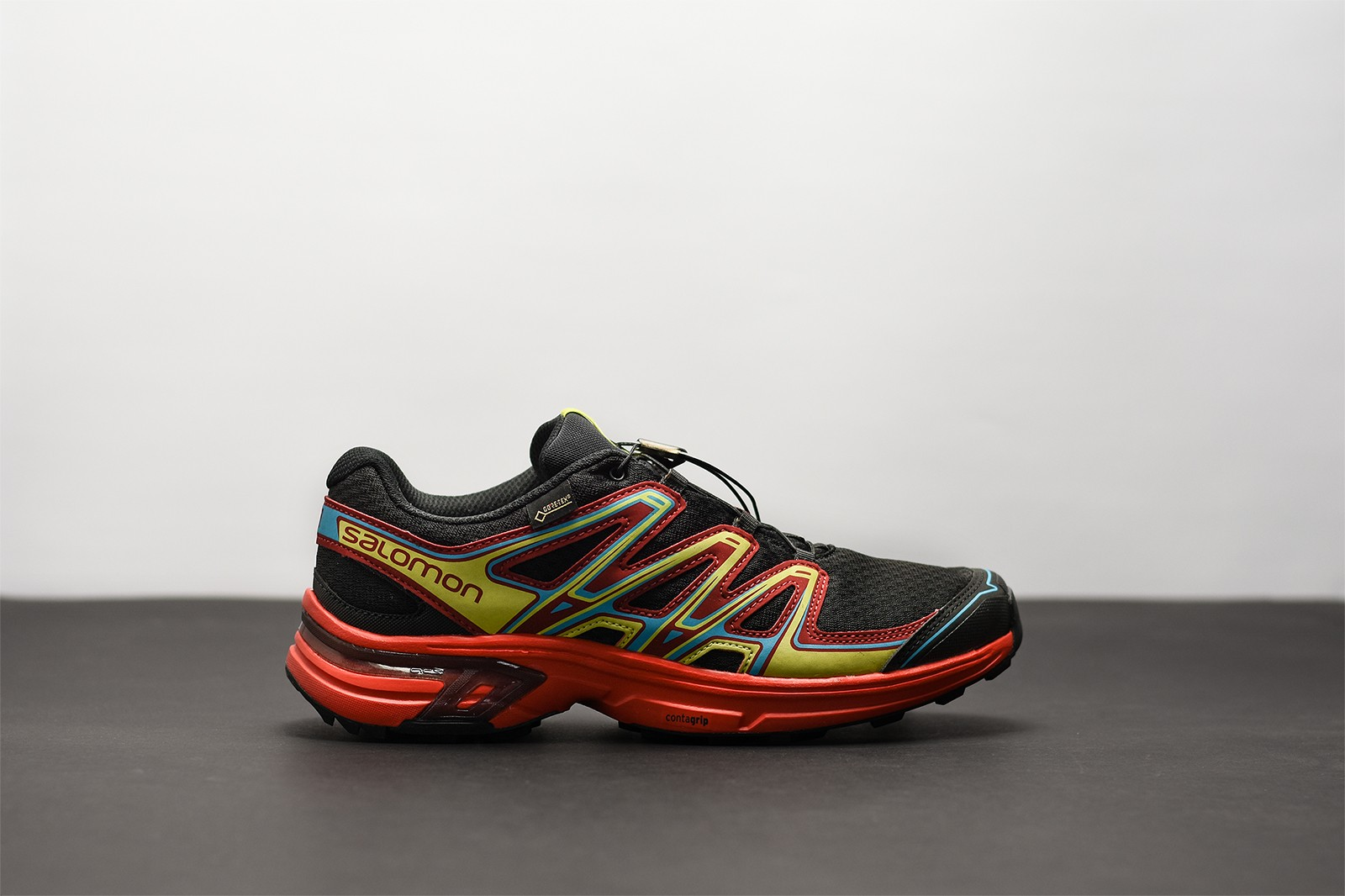 Pánské Běžecké boty Salomon WINGS FLYTE 2 GTXR Bk FIERY RE  36a35f0d7f